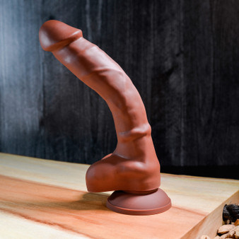 """Real Supple Silicone Poseable Dark 8.25"""""""