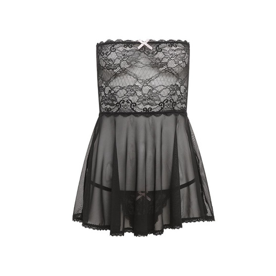 Mesh & Lace Baby Doll