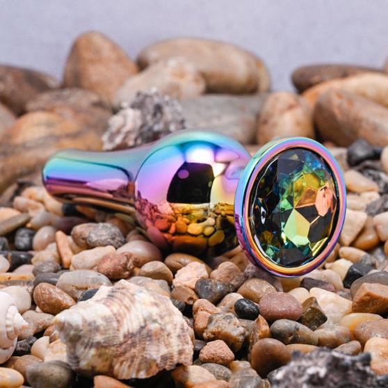 Rainbow Metal Plug - Large
