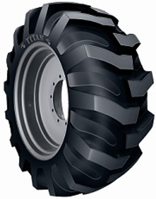 19.5L24 12PR  Pneumatic Wheel Loader Tire - Titan Industrial tractor Lug R4