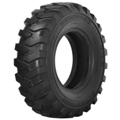 10.00-20 TIRE - Deestone Industrial D309 Dirt Lug  16 PLY Tire W/Flap