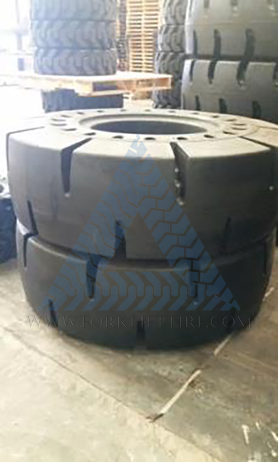 20.5x25 Solid Wheel Loader Tire -  Exmile - Two(2)