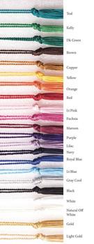 Premium Chainette Tassels for Bookmarks - 4 Loop