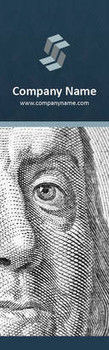 Financial Company Theme 2.75 x 8.5 Personalized Premium 16pt Custom Bookmarks