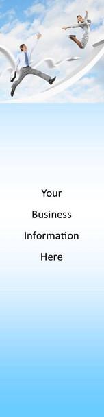 Business, Success Theme 2.75 x 8.5 Personalized Premium 16pt Custom Bookmarks
