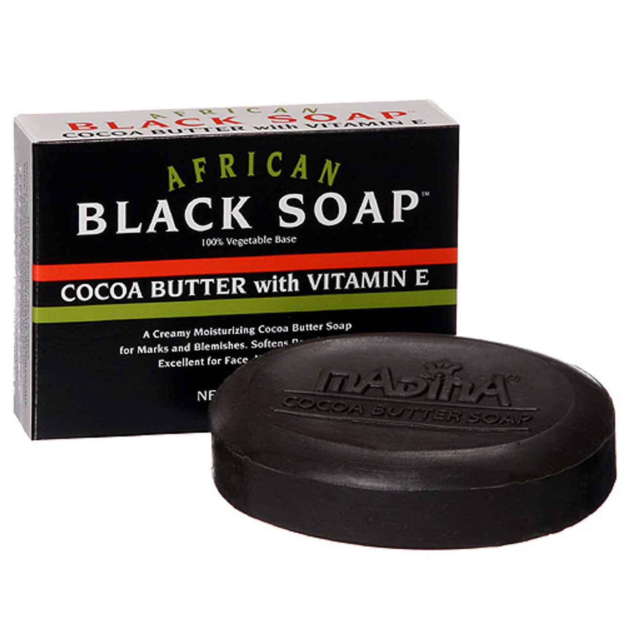 African Black Soap Cocoa Butter Nur Perfumes