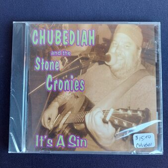 Carl Enyeart Chubediah & the Stone Cronies  It's A Sin CD at Kindred Kaboodle Carlisle Pennsylvania