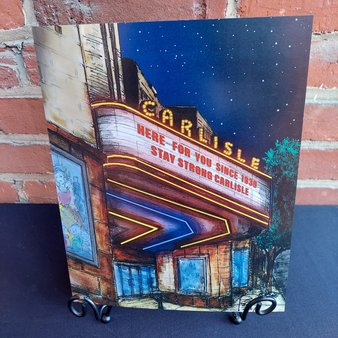 "Phil George Carlisle Theater 8""x10"" Print at Kindred Kaboodle Carlisle Pennsylvania"