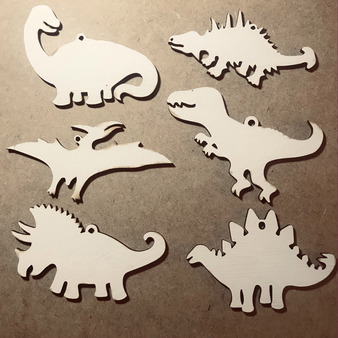 dinosaur ornaments diy paint them your self christmas cindi hardwicke kindred kaboodle