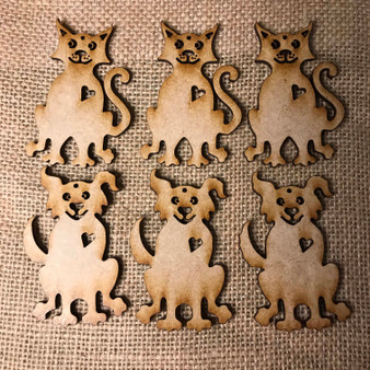 dog cat ornaments paint your own cindi hardwicke kindred kaboodle
