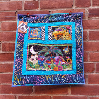 Blue Mountain Pepper Mini Laurel Burch Wall Hanging at Kindred Kaboodle Carlisle Pennsylvania