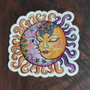 Sun and Moon Small Sticker by Cait Deane at Kindred Kaboodle, Carlisle Pennsylvania