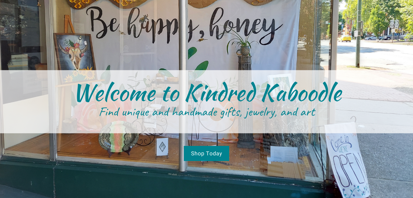 Welcome to Kindred Kaboodle. Find handmade gifts, jewelry, and art.
