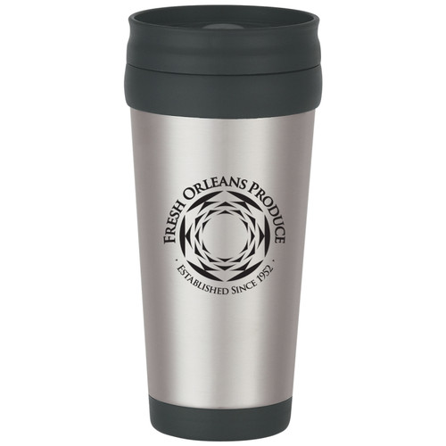 Stainless Steel Cup with Logo
