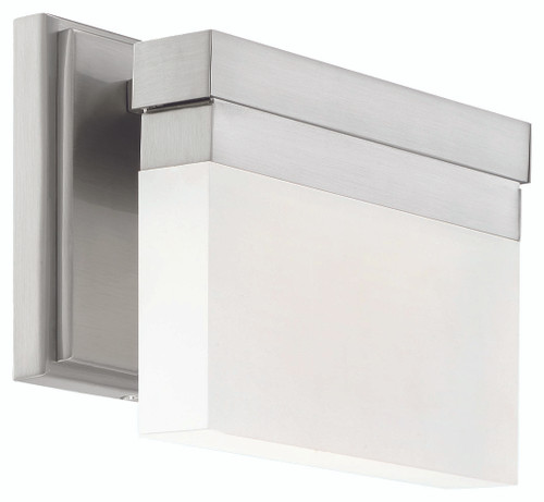 George Kovacs Skinny 1 Light LED Wall Sconce in Brushed Nickel, P5721-084-L