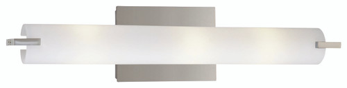 George Kovacs Tube 3 Light Bath In Chrome