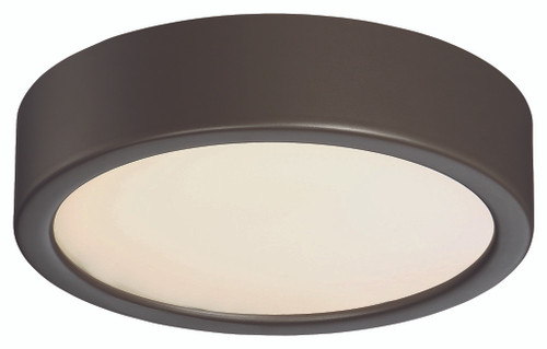 George Kovacs Led Flush Mount In Painted Copper Bronze Patina