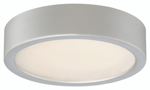 George Kovacs Led Flush Mount In Silver