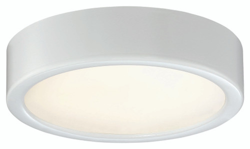 George Kovacs Led Flush Mount In White