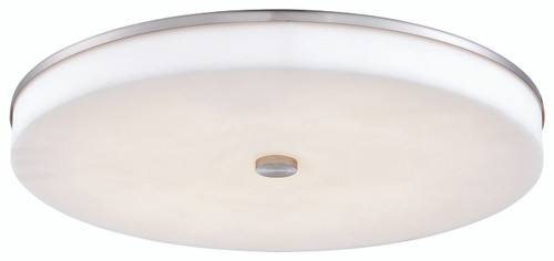 George Kovacs U. H. O. Led Wall Sconce/ Flush Mount In Brushed Nickel