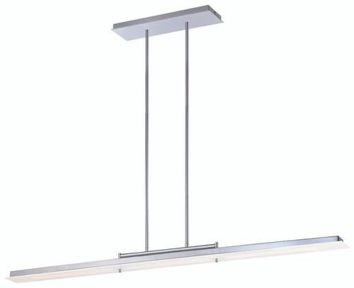 George Kovacs Twist And Shout LED Island Light in Chrome, P1902-077-L
