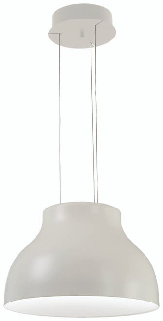 George Kovacs Kettle Up Led Pendant In Matte White