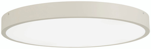 "George Kovacs U.G.O. 28.5"" Led Flush Mount In Sand White"