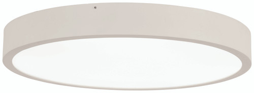 "George Kovacs U.G.O. 22.5"" Led Flush Mount In Sand White"