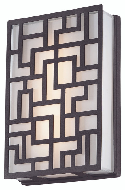 George Kovacs Alecia's Necklace Led Wall Sconce In Sand Bronze, P1221