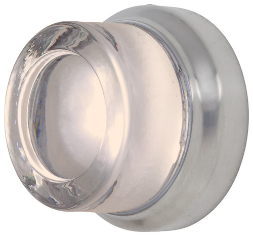 George Kovacs Comet Led Wall Sconce (Convertible To Flush Mount) In Brushed Stainless Steel