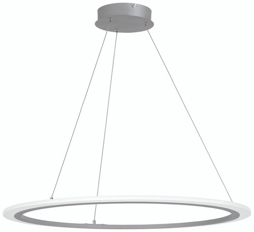 George Kovacs Discovery Led Pendant In Silver