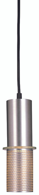 George Kovacs Larry 1 Light Pendant In Satin Aluminum