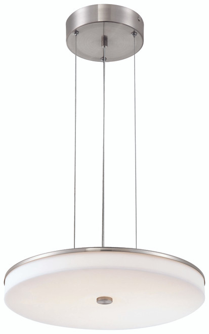 George Kovacs U. H. O. Led Pendant In Brushed Nickel