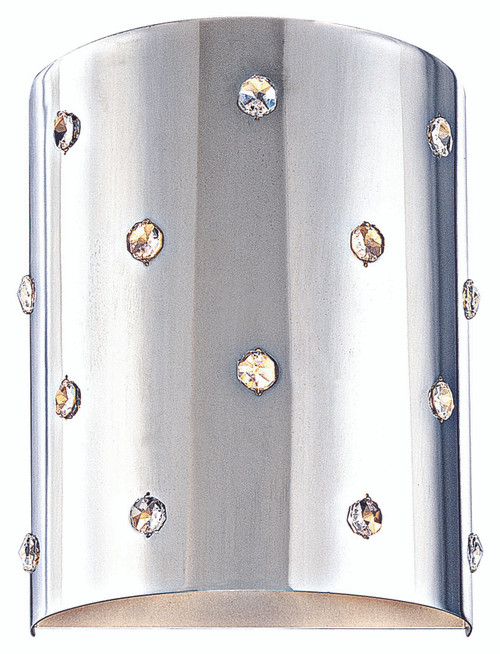 George Kovacs Bling Bling™ 1 Light Wall Sconce In Chrome