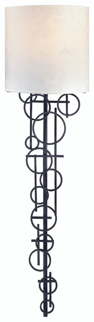 George Kovacs 1 Light Wall Sconce In Black
