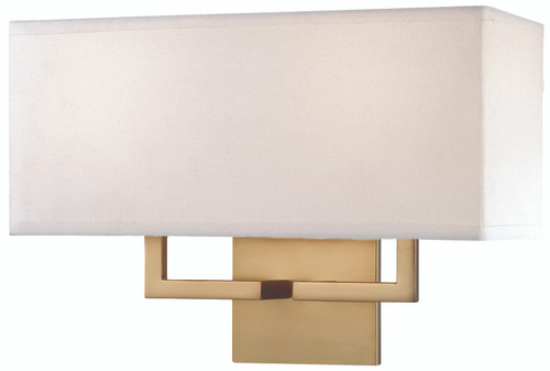 George Kovacs 2 Light Wall Sconce In Honey Gold