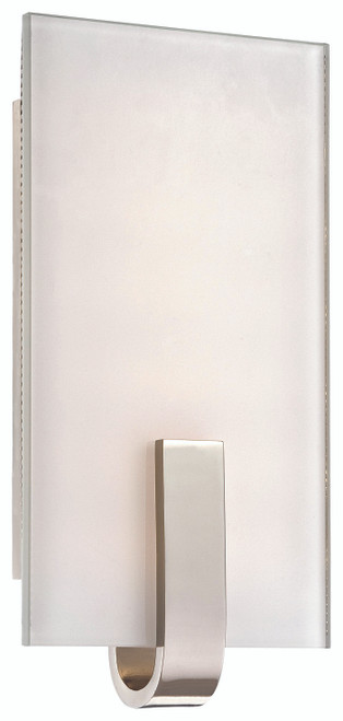 George Kovacs Led Wall Sconce In Polished Nickel