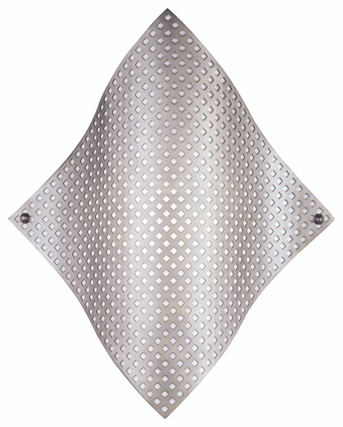 George Kovacs Grid™ 1 Light Wall Sconce In Brushed Nickel