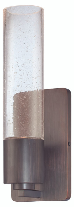 George Kovacs Light Rain 1 Light Wall Sconce In Copper Bronze Patina