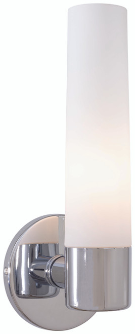 George Kovacs Saber 1 Light Wall Sconce In Chrome