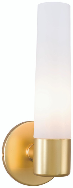 George Kovacs Saber 1 Light Wall Sconce In Honey Gold