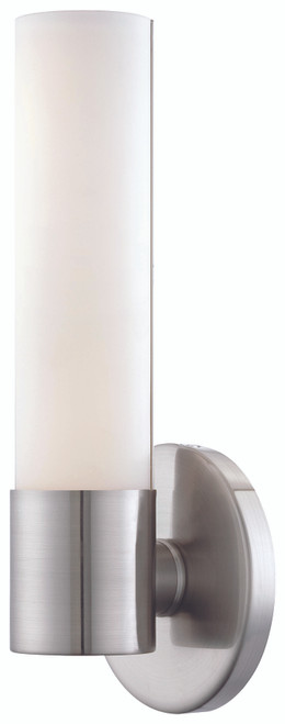 George Kovacs Saber Ii Led Wall Sconce In Brushed Nickel