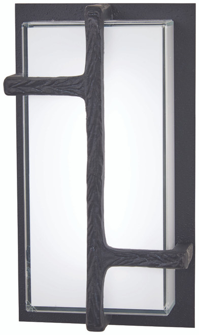 George Kovacs Sirato Outdoor Led Wall Sconce (Convertible To Flush Mount) In Spanish Iron