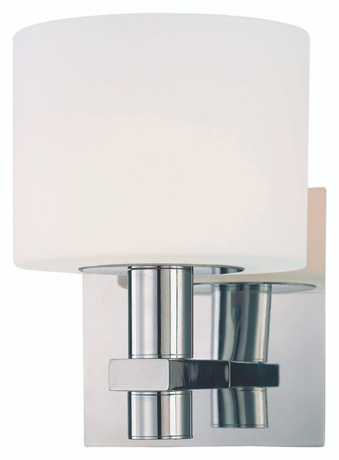 George Kovacs Stem 1 Light Wall Sconce In Chrome