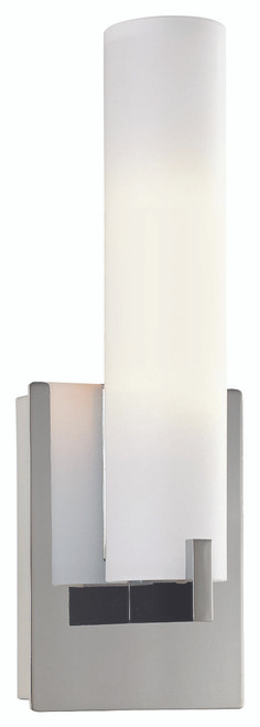 George Kovacs Tube 2 Light Wall Sconce In Chrome