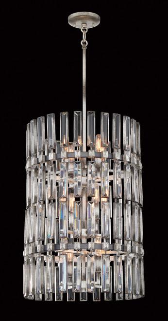 Metropolitan Belle Aurore 12 Light Pendant in Shadow Silver Leaf, N7711-700