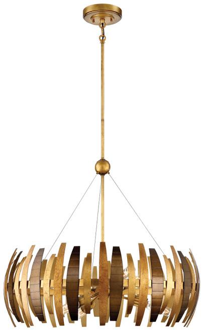 Metropolitan Manitou Collection Six Light Chandelier