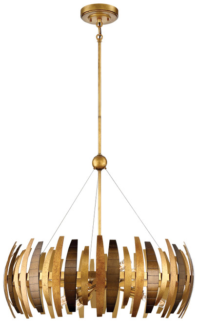 Metropolitan Manitou Collection Six Light Chandelier