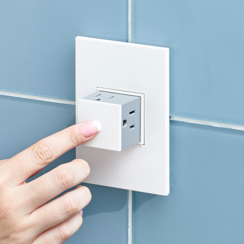 Legrand adorne 1-Gang Pop-Out Outlet, 15A
