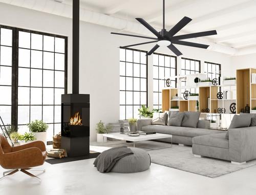 "Minka Aire 65"" Slipstream Ceiling Fan with LED Light"